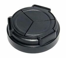 New Black Portable Self-Retaining Auto Lens Cap For Samsung EX1 EX2 EX2F