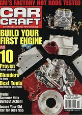 Car Craft Magazine November 2001 Build Your First Engine / Proven Power Combos
