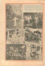 Marche-les-Dames Croix Albert Ier de Belgique/Crue de la Seine 1935 ILLUSTRATION