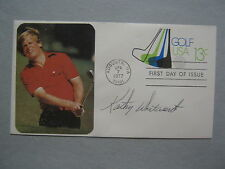 KATHY  WHITWORTH   World Hall of  Fame  Signed  1977 First Day of Issue Envelope