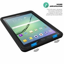 Turtle Skin Protective Shockproof  Case Cover For Samsung Galaxy Tab A 9.7 Black