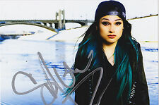 Snow Tha Product Signed 4x6 Inch Photo Rap Chicano Woke Tech Nine 9 Proof
