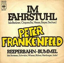 """7"""" Peter Frankenfeld – Im Fahrstuhl / Reeperbahn-Bummel // Germany 1979"""