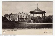 CHESHIRE, LISCARD, CENTRAL PARK, BANDSTAND