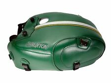 Triumph THRUXTON 1200 2016 BAGSTER TANK COVER protector COMPETITION GREEN 1719B