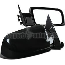 88-98 Chevy/GMC C10 C/K 1500 2500 3500 Manual Left & Right Side Mirrors Pair