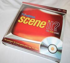 SCENE IT?  THE DVD GAME – TV Edition by Screen life - Premier TV Trivia Game NEW