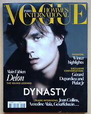 VOGUE Hommes International 18,Alain Fabien Delon,Gerard Depardieu,Joan Collins