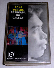 PHILIPPINES:BONG PENERA - Batucada Sa Calesa,TAPE,Cassette,RARE,SEALED,OPM Jazz