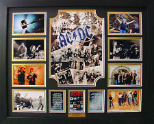 ACDC Limited Edition Signatures Framed Memorabilia (b)