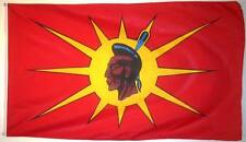 Mohawk/Oka Native 3ft x 5ft Flag Polyester (90cm x 150cm) $10.99 New in Package