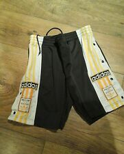 MENS ADIDAS POPPERS RETRO SHORTS SIZE 30 (not tracksuit )