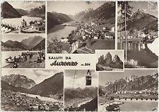 SALUTI DA AURONZO - VEDUTINE (BELLUNO) 1964