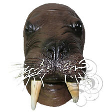 Latex Full Head Aquatic Walrus Animal High Quality Fancy Dress Up Party Masks