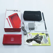 Brand New Pure Red Nintendo DS Lite HandHeld Console System + gifts