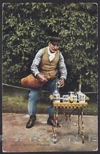 PALERMO COSTUME SICILIANO 11 Acquaiolo SICILIA FOLKLORE Cartolina viagg. 1926