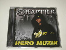 RAPTILE/HERO MUZIK(SONY BMG/82876870312)CD ALBUM NEU