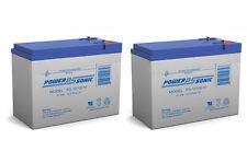 Power-Sonic 12V 10.5AH BATTERY FOR RAZOR DIRT QUAD VERSION 1-8 12V 10AH - 2 Pack