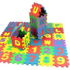 A 72Pc Baby Child Number Alphabet Puzzle Blocks Foam Maths Educational Toy