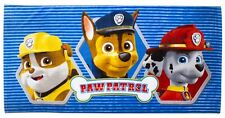 Paw Patrol 'Rescue' Printed Beach Towel Brand New Gift