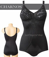 CHARNOS Panty Corselette  Non Wired Soft Cups  Black  New Size 40C
