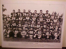 """1949 BALTIMORE COLTS TEAM LAMINATED PRINT PHOTO """"14"""" X 11"""" Y.A. TITTLE #63"""