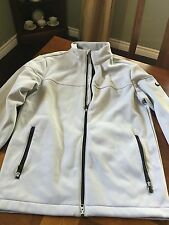 Men's Nike Taupe Polyester/ FleeceLined Zippered Jacket Small RN#56323 CA#05553
