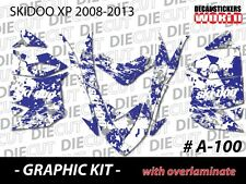 SKI-DOO XP MXZ SNOWMOBILE SLED WRAP GRAPHICS STICKER DECAL KIT 2008-2013 A-100