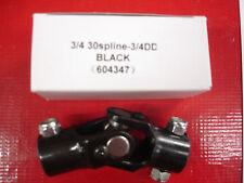 3/4 inch 30 spline - 3/4 dd steering universal joint u joint  new