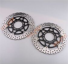 Front Brake Disc Rotor for Kawasaki NINJA ZX6R 2005-2011  ZX10R 2004-2007
