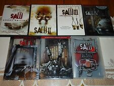Saw 1-7 Complete Collection, 9 DVD Widescreen Set, UNRATED 1-6