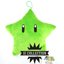 SUPER MARIO BROS. STELLA VERDE PELUCHE PUPAZZO plush star new NINTENDO green ds