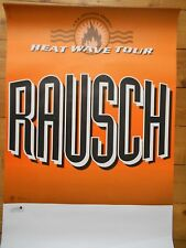 Rausch 1994 ORIG. Concert-concerto-Tour poster-manifesto DIN a1 used