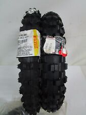 COPPIA GOMME MINI CROSS PIT BIKE PIRELLI SCORPION  60/100-14  80/100-12 3.00-12