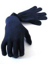 100% Luxury Cashmere Navy Gloves - Made in Scotland