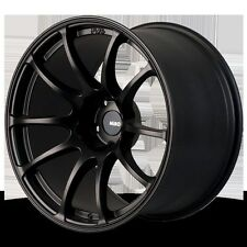 MIRO 563 18X10.5 +20 5x114.3 BLACK WHEELS FIT EVO 8 9 X CONCAVE AGGRESSIVE JDM