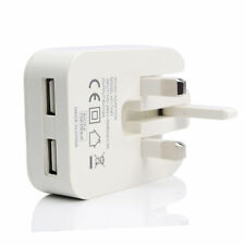 5V 2A Dual USB Charger Plug Fast Charging For iPhone iPad Samsung HTC Sony LG