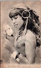 ALGERIE - Type de buste de jeune fille arabe