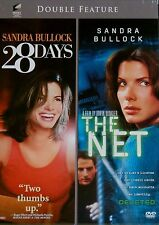 Double Feature Sandra Bullock: 28 Days / The Net NEW DVD Set RARE!  SHIPS FREE