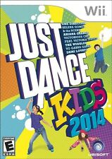 Just Dance Kids 2014 SEALED Nintendo Wii & WII U 14 2K14 GAME