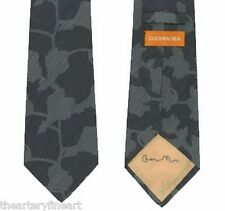 GARY HUME 'Orchid', 2000 SIGNED Neck Tie Limited Edition #099/300 CoA **NEW**