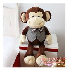 "One Large SIZE 75cm/30"" New huge big MONKEY stuffed animal plush soft toy doll"