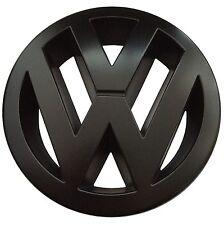 VW Zeichen Schwarz Matt Vorne Golf 5 Polo 9N3 GTI Cup Edition 30 R-Line TDI *NEU