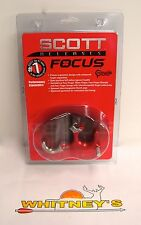 Scott Archery Focus 3 Finger Back Tension Release -Red-#6007-RE-3