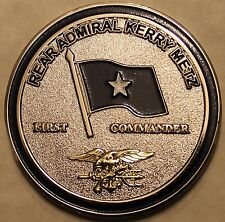 Special Operations Command North RADM Kerry Metz Navy SEAL Challenge Coin