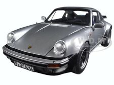 1977 PORSCHE 911 TURBO 3.3L SILVER 1/18 DIECAST CAR MODEL BY NOREV 187574