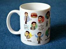 New Quality Ceramic Coffee Mug Cup Supernatural Cartoon Dean Sammy Cas