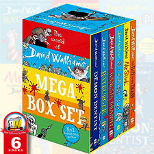 David Walliams Collection 6 Books Mega Box-Set NEW Paperback English