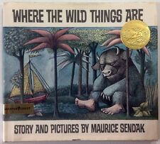 Where The Wild Things Are - Maurice Sendak - 1st Edition Library Binding - 1964