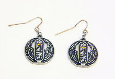 Egyptian Egypt Cartouche Royal Name Earrings Set of 2. Fashion Jewelry Accessory